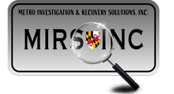Metro Investigation and Recovery Solutions Logo